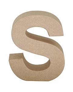 """Paper Mache Letter S 6.8"""""""