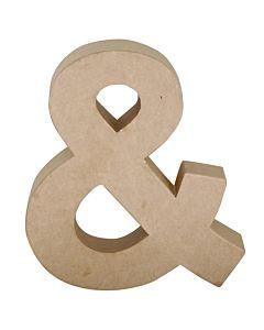 """Paper Mache Letter & 6.8"""""""