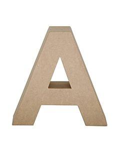 "Paper Mache Letter A 4"""