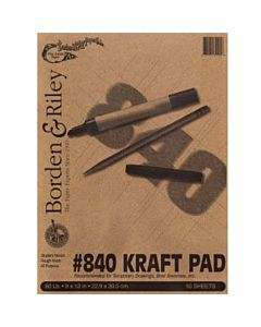"Kraft Paper 50-Sheets 18x24"""