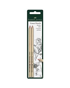 Faber-Castell Eraser Pencil 2 Pack