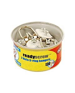 Ooks ReadyScrew 2 Ring Hanger Tidy Tin