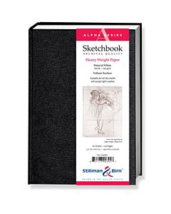 Stillman & Birn Alpha Series Sketchbook - Hard Bound - 8.2x11