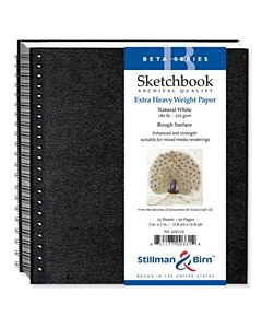 Stillman & Birn Alpha Series Sketchbook - Wire Bound - 7x7