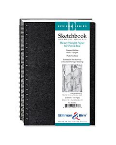 Stillman & Birn Epsilon Series Sketchbook - Wire Bound - 6x8