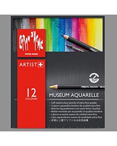 Caran d'Ache Museum Aquarelle Pencil Set of 12