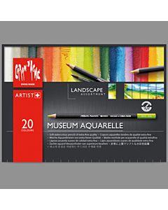 Museum Aquarelle Landscape Set 20