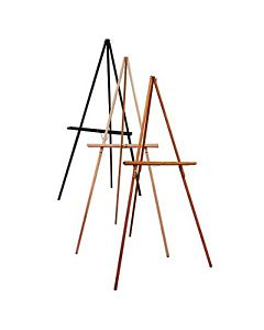 Display Easel Natural Wood