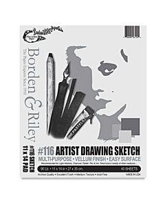 Borden & Riley #116 90lb Drawing 18x24 - 250 Sheets
