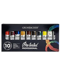 Grumbacher Academy Watercolors - 10 Color Set
