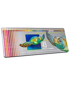 Bruynzeel Colored Pencil Tin Set of 45