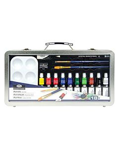 Royal & Langnickel Clearview Art Tin - Acrylics