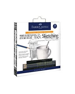 Faber Castell Getting Started Drawing & Sketching Set