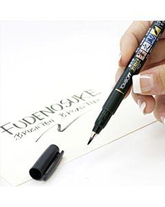 Tombow Fudenosuke Soft/Hard 2 Pen Set