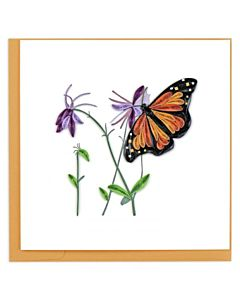Quilling Card - BL1139 - Monarch Butterfly