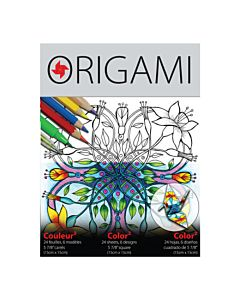 "ColorFold Origami 5-7/8""Sheet 24 Pack"