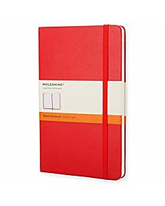 Moleskine RULED SOFT Large RED