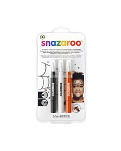 Snazaroo Face Paint Brush Pen - Halloween