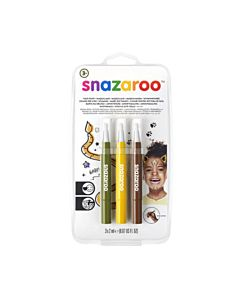 Snazaroo Face Paint Brush Pen - Jungle