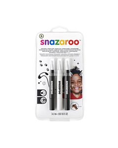 Snazaroo Face Paint Brush Pen - Monochrome