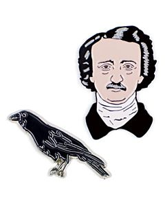 Edgar Allan Poe Lapel Pin