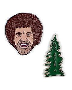 Bob Ross Lapel Pin