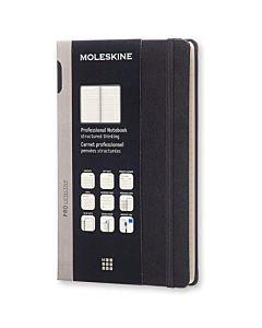Moleskine Professional Hardcover Notebook - Black - Large