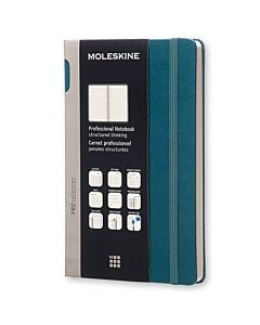 Moleskine Professional Hardcover Notebook - Tide Green - Large