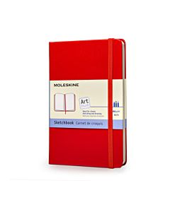 Moleskine Art Plus Sketchbook - Red - Large