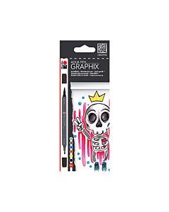 Marabu Aqua King of Bubblegum Pen Set of 6