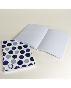 Art Alternatives Journal Bold Dot Violet 6x8