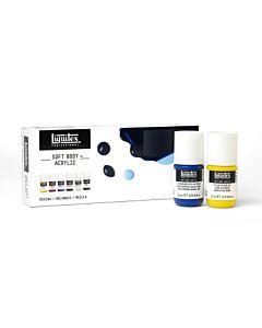 Liquitex Soft Body MIXING 6X22ML SET