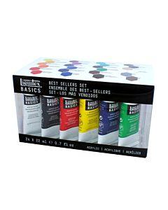 Liquitex Basics - Basics 24 Color Set
