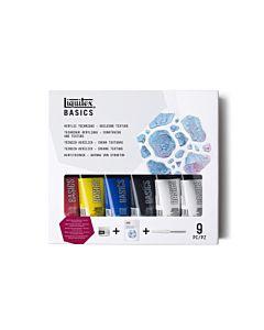 Liquitex Basics - Basics Building Texture Set