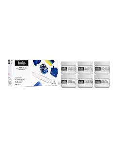 Liquitex Acrylic - 6 x 100ml - Intro Mediums Set