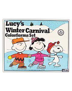 Colorforms - Lucy's Winter Carnival