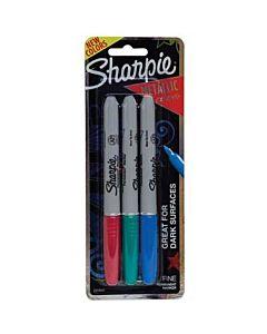 Sharpie Metallic 3 Count Set