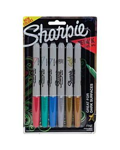 Sharpie Metallic 6 Count Set