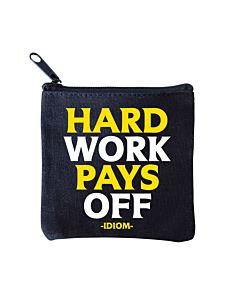Quotable Mini Pouch - Hard Work