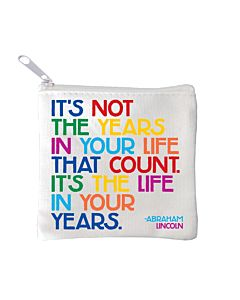 Quotable Mini Pouch - Years In Your Life