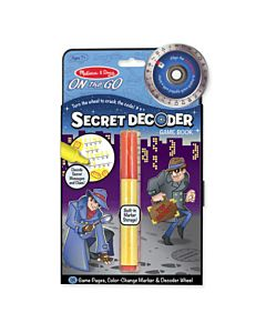 Melissa & Doug Secret Decoder Game Book