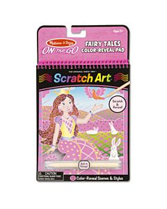 Melissa & Doug Scratch Art Revel Pad - Fairy Tales
