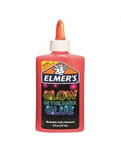 Elmers Glow in the Dark Glue - 5oz - Pink