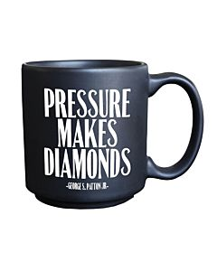 Quotable Mini Mug - Presure Diamonds
