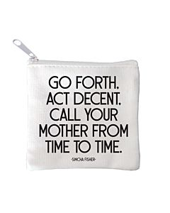 Quotable Mini Pouch - Call Your Mother