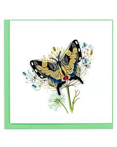 Quilling Card - Swallowtail