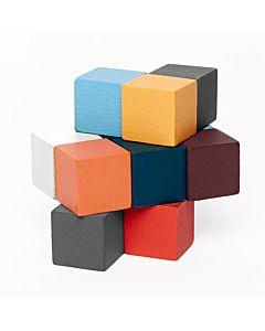 Kikkerland Design - Elasticube Wood Puzzle