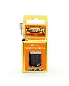 Kikkerland Music Box - What A Wonderful World