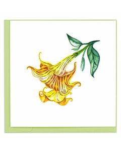 Quilling Card Angels Trumpet
