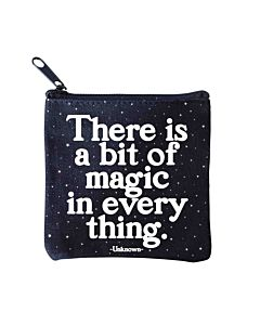 Quotable Mini Pouch - A Bit Of Magic